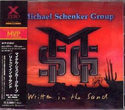 1996絕版首發日盤MSG - Written In The Sand Michael Schenker CD@C5