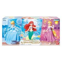 【歐賣小舖】現貨 盒玩  Disney Prunelle Doll 迪士尼公主 人偶 精裝套組 全3種