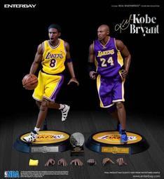 【小人物玩具】再版預購代理版 ENTERBAY: 1/6 NBA系列 湖人隊 Kobe Bryant 柯比·布萊恩
