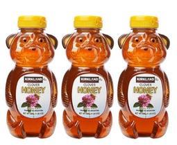 【佩佩的店】COSTCO 好市多 科克蘭 100%純蜂蜜 HONEY 小熊造型蜂蜜 680公克 X 3入/組 新莊可面交