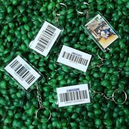 ☆瓶子羊【 電子發票載具條碼鎖圈 鑰匙圈 7-11 全家 各式條碼 】☆客製化