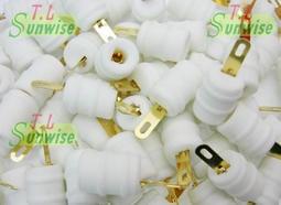 鍍金 ︽NO:T018 管帽 1只25元 ( 適用於 FU-32 ; FU32 ; 832 ) 陶瓷 (全新品) 真空管