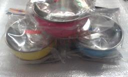 力加賣場 - 永昌 寶石牌 Y-205SS 小蟻布比 香醇不鏽鋼 雙層隔熱碗 兒童碗 (附不銹鋼蓋/湯匙)