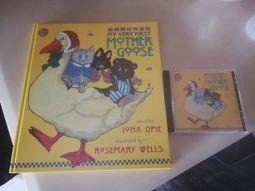 鵝媽媽經典童謠 書+CD  完整套組