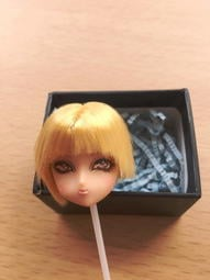 售 1/6 容妝娃頭 jungen Werthers-OOAK Volks Mini Head
