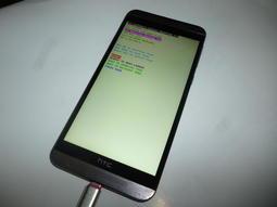 HTC-E9x智慧5.5吋4G手機500元-當機