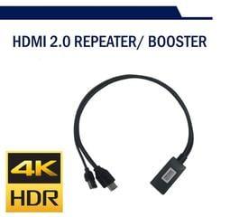 支援HDR10+, HDMI2.0, HDCP2.2, 4k@60延長器20M非網路線延長 [PS4 Pro,Xbox]