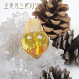 【享分期零利率】許願寶石~聖木底座琥珀墜子8號