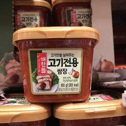 Costco好市多🇰🇷CJ韓式烤肉蔬菜用沾醬 900g 韓式料理 韓式辣醬