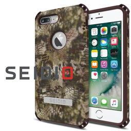 SEIDIO DILEX KRYPTEK迷彩聯名款iPhone 7 8 Plus 5.5吋軍規防撞測試四角防摔金屬立架