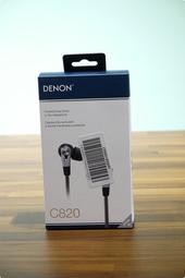 【Gshop】現貨_Denon AH-C820/C821 in-Ear 入耳式 耳機