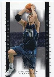 [SAMC] Dirk Nowitzki 2002-03 SP Authentic 限量卡
