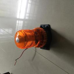 高亮度電動車LED黃光-紅光爆閃警示燈-怪手-挖土機-山貓-堆高機-重機械-重機具火黎農機曳引機12V-24V-30V-