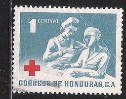 ~防癆.慈善.紅十字票集散地~1969, June HONDURAS 發行1V