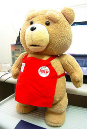 現貨 美國120%正版電影授權 TED 熊麻吉 泰迪熊 48CM 絨毛熊 熊麻吉2 絨毛熊 情人節禮物 ted熊 七夕