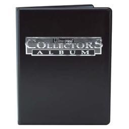 (全新品)美國 Ultra PRO 四格簿球員卡收集冊 黑色