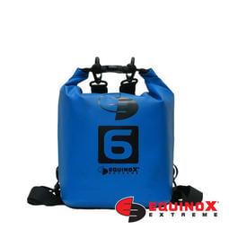 【EQUINOX】城市游俠防水包【藍 可雙肩背 6公升】 6L 浮潛水衝浪防水背包泛環島海釣 113703
