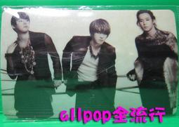 ★allpop★ JYJ [ 精美 卡貼 ] A款 現貨 絕版 韓國進口 萬用貼 悠遊卡貼 金在中 朴有天 金俊秀