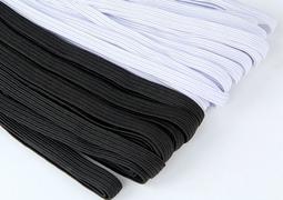 【翰翰手作材料】家庭用強力鬆緊帶 台灣製 鬆緊帶 耐久帶 整包 黑色/白色