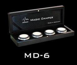 音響避震墊 德國 MAGIC DAMPER MD-6 (中、組)喇叭、輸入源(CD)、擴大機