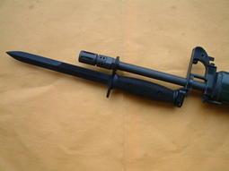 新樂園國魂本舖---國魂步槍系列通用---M7加長版刺刀(T65K2.T86.T91適用)