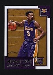 2015-16 Hoops #295 Anthony Brown RC   洛杉磯湖人隊