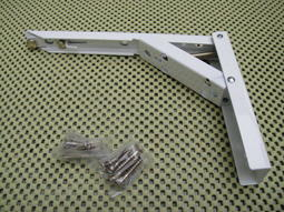 VIVA專利活動式 烤漆 烤白 L型支撐架/折疊式活動架/三角架/活動式三腳架