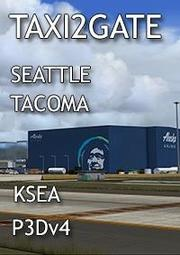 TAXI2GATE - SEATTLE-TACOMA AIRPORT KSEA For P3D V4 - 露天拍賣