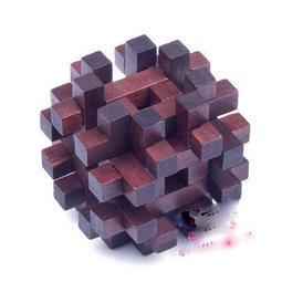 【雜貨店】雙十字籠子 益智玩具 24鎖 拆裝組合遊戲 孔明鎖 魯班鎖球雙十字籠子49元