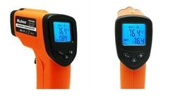 紅外線測溫器, 可依不同被測體調整放射率