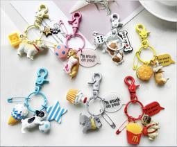 柴犬吊飾 柯基吊飾 法鬥吊飾鑰匙圈