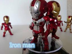鋼鐵人 Q版 一代 二代 三代 MARVEL IRON MAN 單只$370 整套$1200