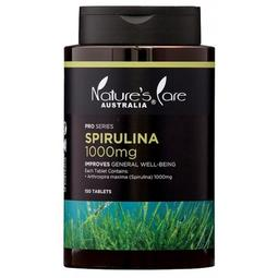 *╮e'Best╭* 澳洲 Nature's Care Pro Spirulina 螺旋藻 1000mg
