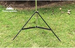 【悠遊戶外】 Campingmoon 營燈柱輔助支撐架 三腳架 三角架 掛物架 營燈柱 伸縮燈架 雙掛勾 戶外燈架 登山