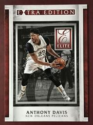 2015-16 Elite Extra Edition #8 Anthony Davis 鵜鶘隊