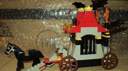哈比幻想世界 中 樂高 LEGO 城堡系列 二手 6047 馬車