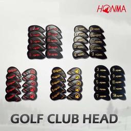 【老煙槍】高爾夫桿套【HONMA球桿桿頭套】PU材質刺繡BERES帽套