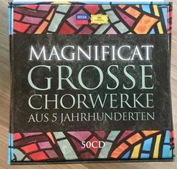 DECCA 2012 Magnificat 五百年來的聖樂經典 (50CD+歌詞CD)