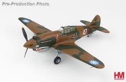 【模王 HM 現貨】國軍 P-40B 名將AVG RT史密斯 座機 比例 1/48 合金 飛機 完成品 HA9203