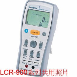TECPEL 泰菱 》固緯 GW 掌上型LCR錶 LCR-916 LCR表 電阻 電容 電感 背光 歸零 刷卡