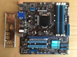 衝千分評價 ASUS P8Q67-M DO(BM6660)/1155/4記憶體插槽/品相新/附擋板/保1個月