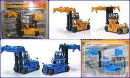 日版 1/150 N規 建設機械 特殊車輛 貨櫃搬運車 TCM FD430 藍青色+黃色 兩款合售 全新品