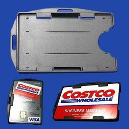 雙卡套 _兩張卡片_硬殼識別證套_識別證_證件帶_感應式卡夾_悠遊卡套_證件套_卡匣_嗶卡!