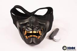 HMM 榔頭模型 般若之面 惡鬼面罩 鬼面具 硬殼半罩式 防彈面罩 般若面具 $350~25062