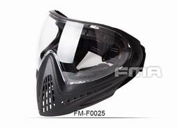 【聯盟軍 生存遊戲專賣店】FMA F1面罩 防霧護目鏡 全罩式面罩 黑色