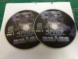 二手裸片 VCD 專輯 地球入侵者 2VCD <Z108>