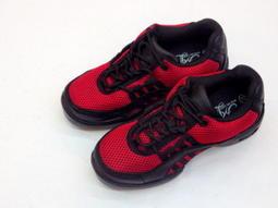 [康美佳鞋城]2968紅色新款好穿方便手工氣墊休閒舞鞋35~~40超值特價$1300