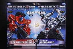 時空界 Cloud V級 TFC-A01 Optimus Prime 柯博文 & D01 Megatron 密卡登 經典