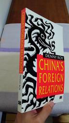 【英文舊書】中國對外關係 China's Foreign Relations, Denny Roy