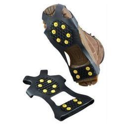 戶外用品 防滑鞋套 10齒戶外登山 泥地山地適用